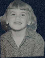 Barb Bentler Ullman when she was little